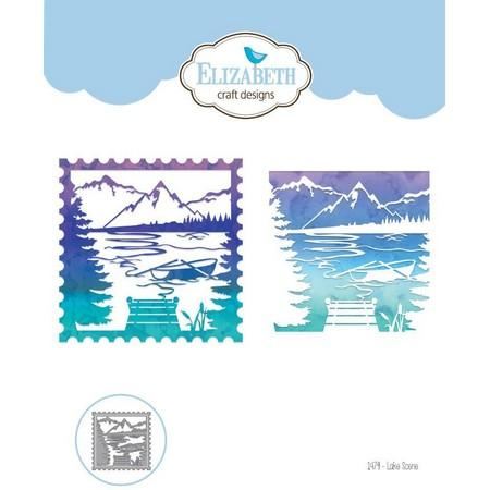 Elizabeth Craft Designs - Die - Lake Scene