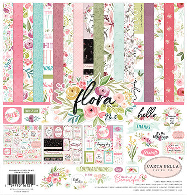 12X12 Collection Kit, Flora no.3