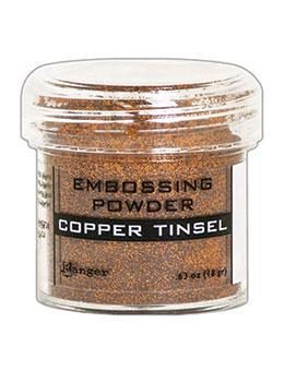 Embossing Powder, Copper Tinsel