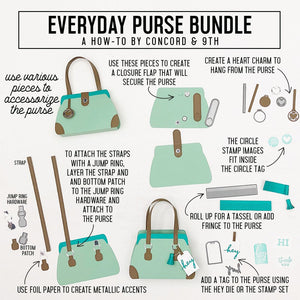 Everyday Purse,  Concord and 9th Die