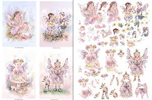3D Precut (2 Sheet)Fairy Poppets - Moments/Tiny Toadstool Faerie