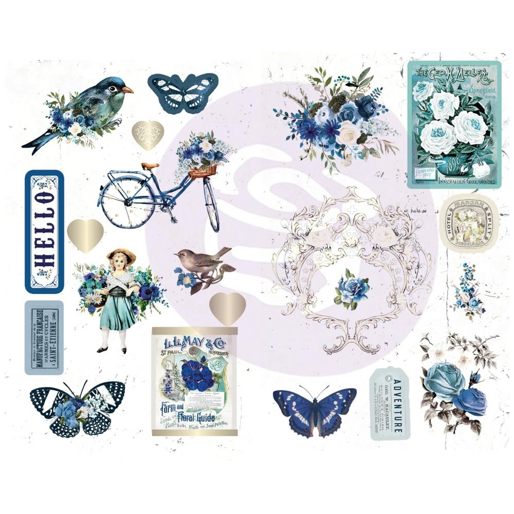 Georgia Blues Chipboard Stickers 5
