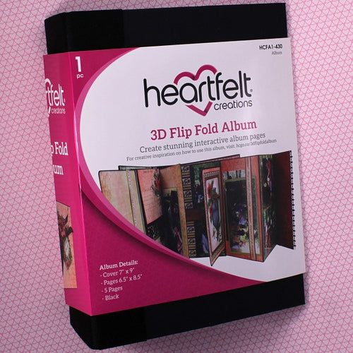 3D Flipfold Album - Black