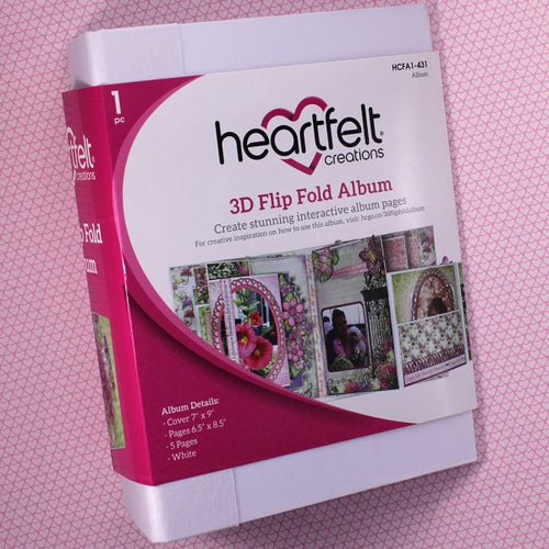 3D Flipfold Album - White
