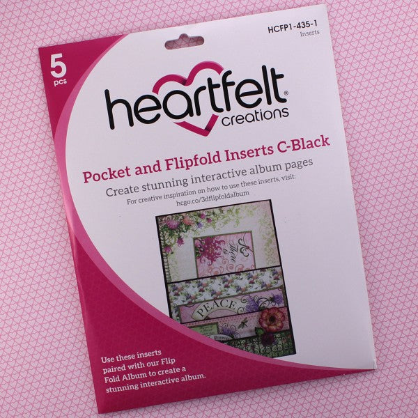 Pocket and Flipfold Inserts C