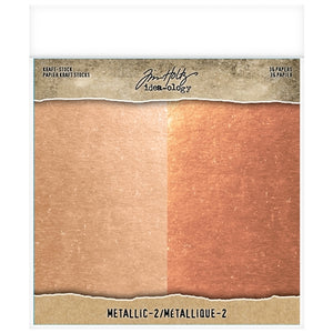 TH IDEAOLOGY: KRAFT-STOCK METALLIC-2 Rose Gold & Copper