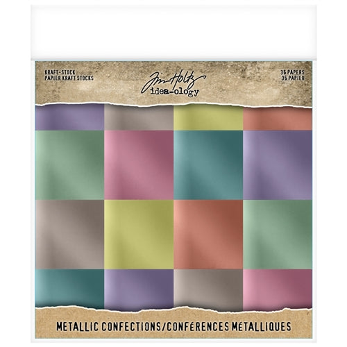TH IDEAOLOGY: KRAFT-STOCK METALLIC CONFECTIONS