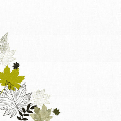 12X12 Patterned Paper, Fallen Leaves - Warm Breeze