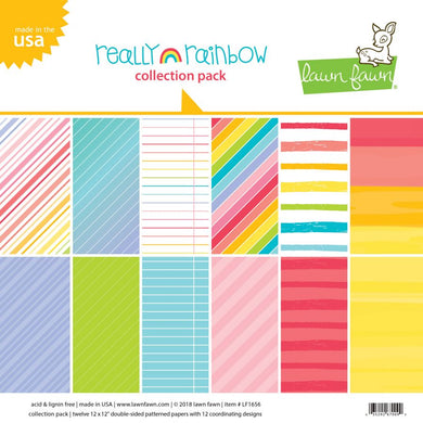 LAWN FAWN: Really Rainbow - Collection Pack