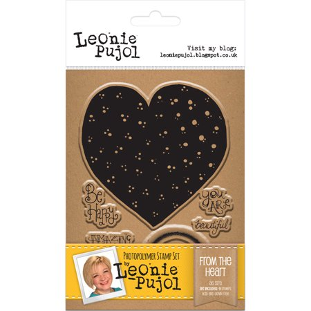 Leonie Pujol Clear Stamp Set-From The Heart