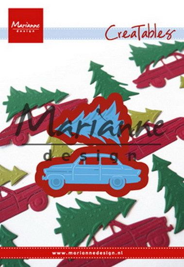 Marianne Design Creatables Driving Home for Christmas