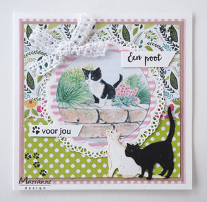 Marianne Design Creatables Tiny's Cats