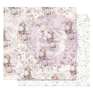 "Lavender Frost Foiled Double-Sided Cardstock 12""X12"" - The Road To You"