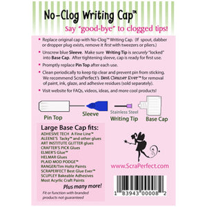No-Clog LARGE Writing Cap