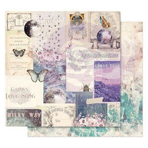 "Moon Child Foiled Double-Sided Cardstock 12""X12"" - Lunar Peak"