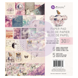 "Moon Child - Prima Marketing Double-Sided Paper Pad 6""X6"" 30/Pkg, 6 Designs/5 Each"