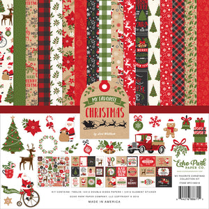 My Favorite Christmas Collection - 12 x 12 Collection Kit