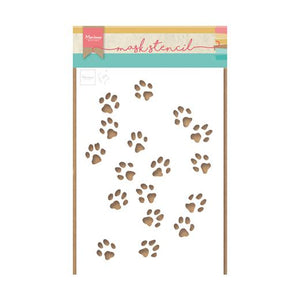 Marianne Design Craft Stencil: Tiny's Cat Paws