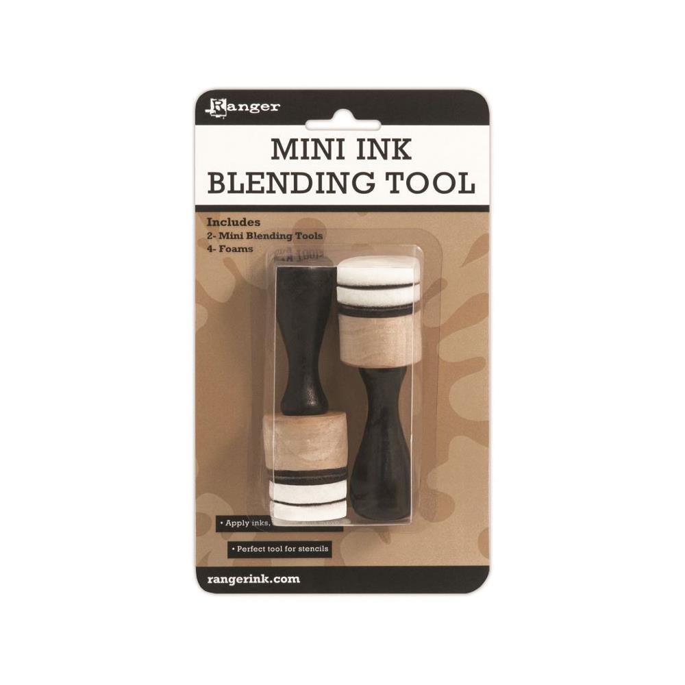 Tim Holtz, Mini Ink Blending Tool - 1 Inch Round (2 Tools)