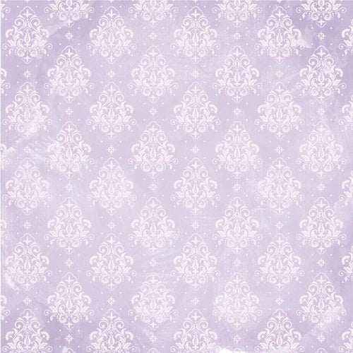 12X12 Patterned Paper, Amethyst - Moonstone