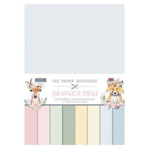 The Paper Boutique Magical Forest Colour Card Collection