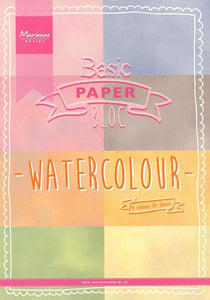 Marianne Design A5 Pretty Paper Bloc Watercolor