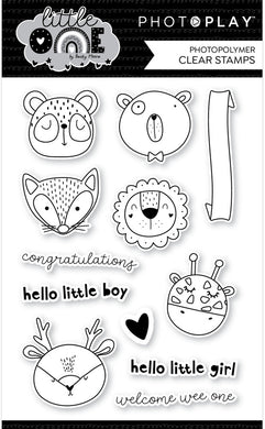 Clear Stamp, Little One - Animals