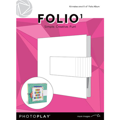 6X6 FOLIIO 1, Maker's Series - White