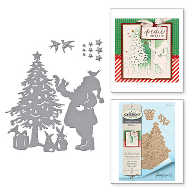 DECK THE HALLS - BY SHARYN SOWELL ETCHED DIES