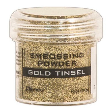 Embossing Powder, Gold Tinsel