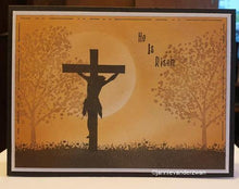 Clear Stamp Silhouette Cross