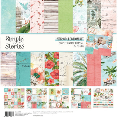 12X12 Collection Kit, Simple Vintage Coastal
