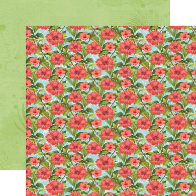 12X12 Patterned Paper, Simple Vintage Coastal - Rest & Relax