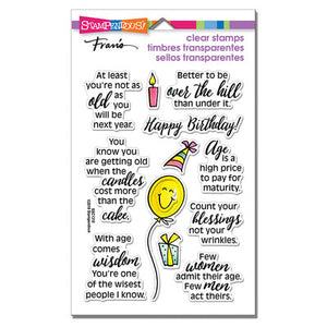Stampendous Birthday Fun Clear Photopolymer Stamps