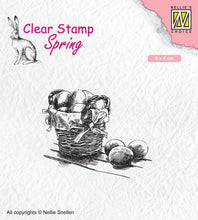 Clear Stamp Spring Easter Eggs