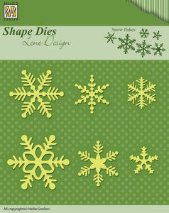 Shape Die - Snow Flakes