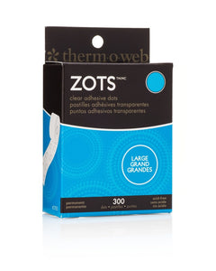 Zots Roll, Lg 300 Dots (1/2 In. Dia. X 1/64 In. Thick)