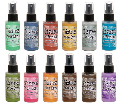 Tim Holtz - Distress Oxide Sprays  -  Multiple Colors Available