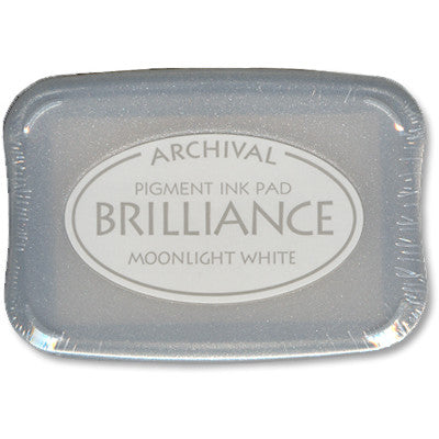 Brilliance Ink Pad, Moonlight White