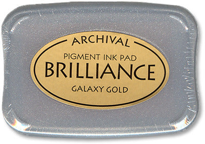 Brilliance Ink Pad, Galaxy Gold