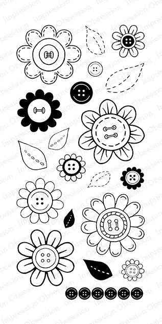 Buttons Flowers