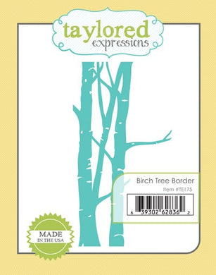 birch tree border