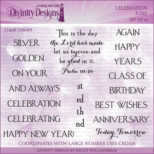 CELEBRATION (CLEAR STAMPS)