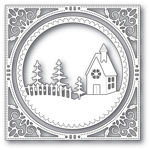 Country Church Frame craft die (Multiple Dies in Set) - Christmas
