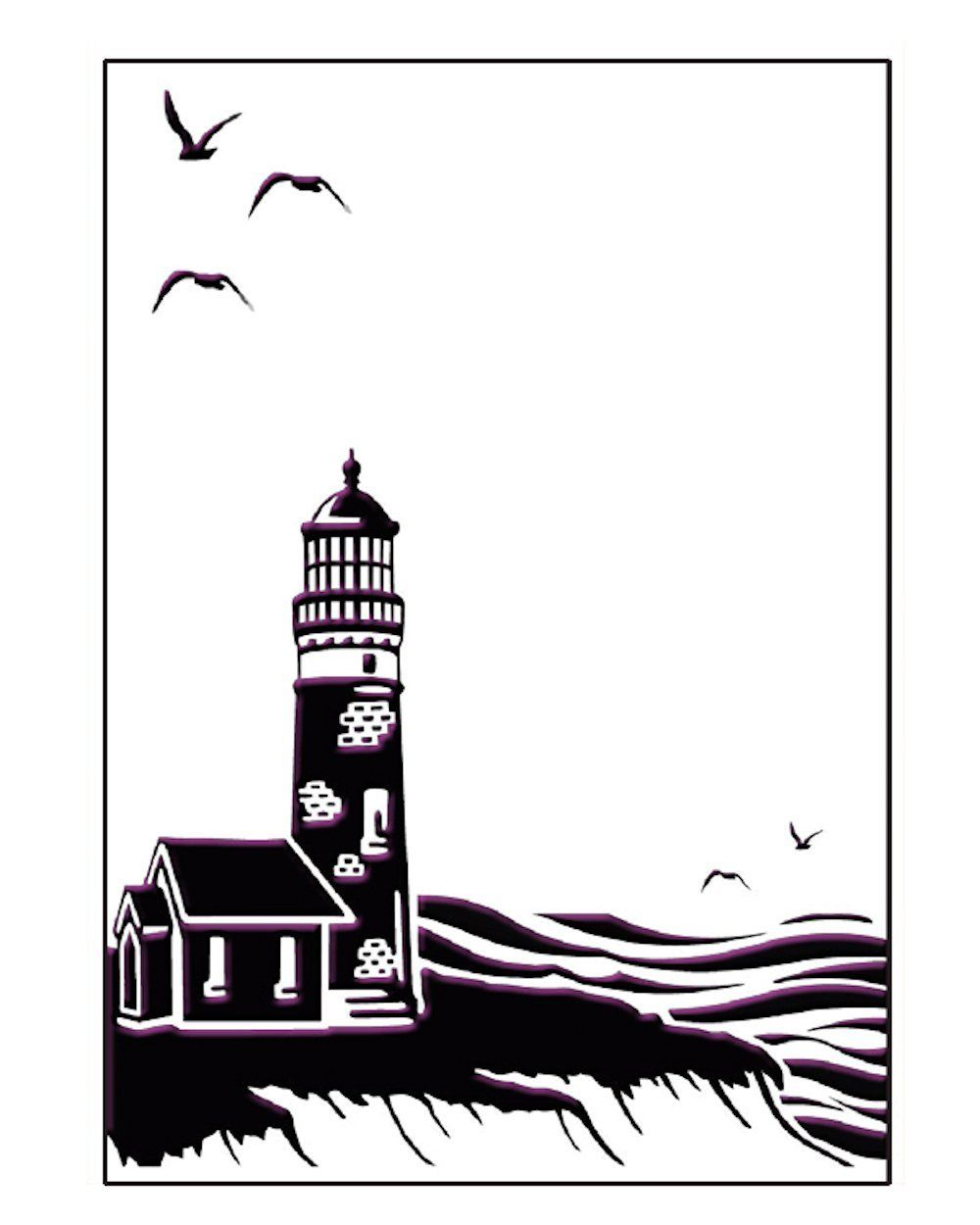 Embossing Folder - Coastal View 5 x 7