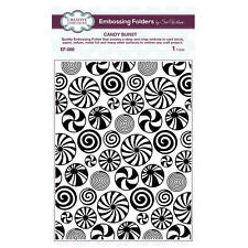 Creative Expressions Emboss Folder 5 3/4 x 7 1/2 Candy Burst