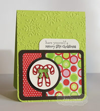 embossing folder - winter flurry