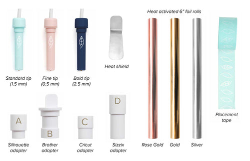Foil Quill Heat Activated Pen, Starter Kit   ETA is April 30th