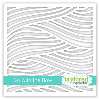 Go with the Flow Stencil