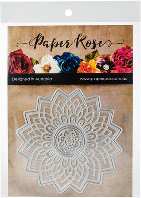 Paper Rose Dies-Layered Mandala